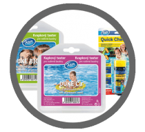 Testers for swimming pools