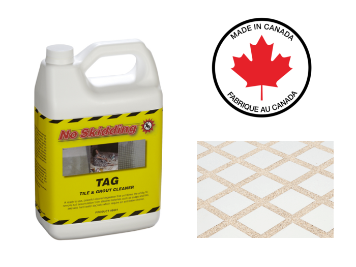 TAG Tile & Grout Cleaner - почистващ препрат за плочки