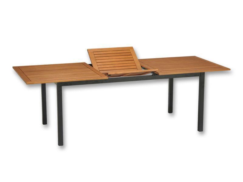Extensible Garden Table From Eucalyptus