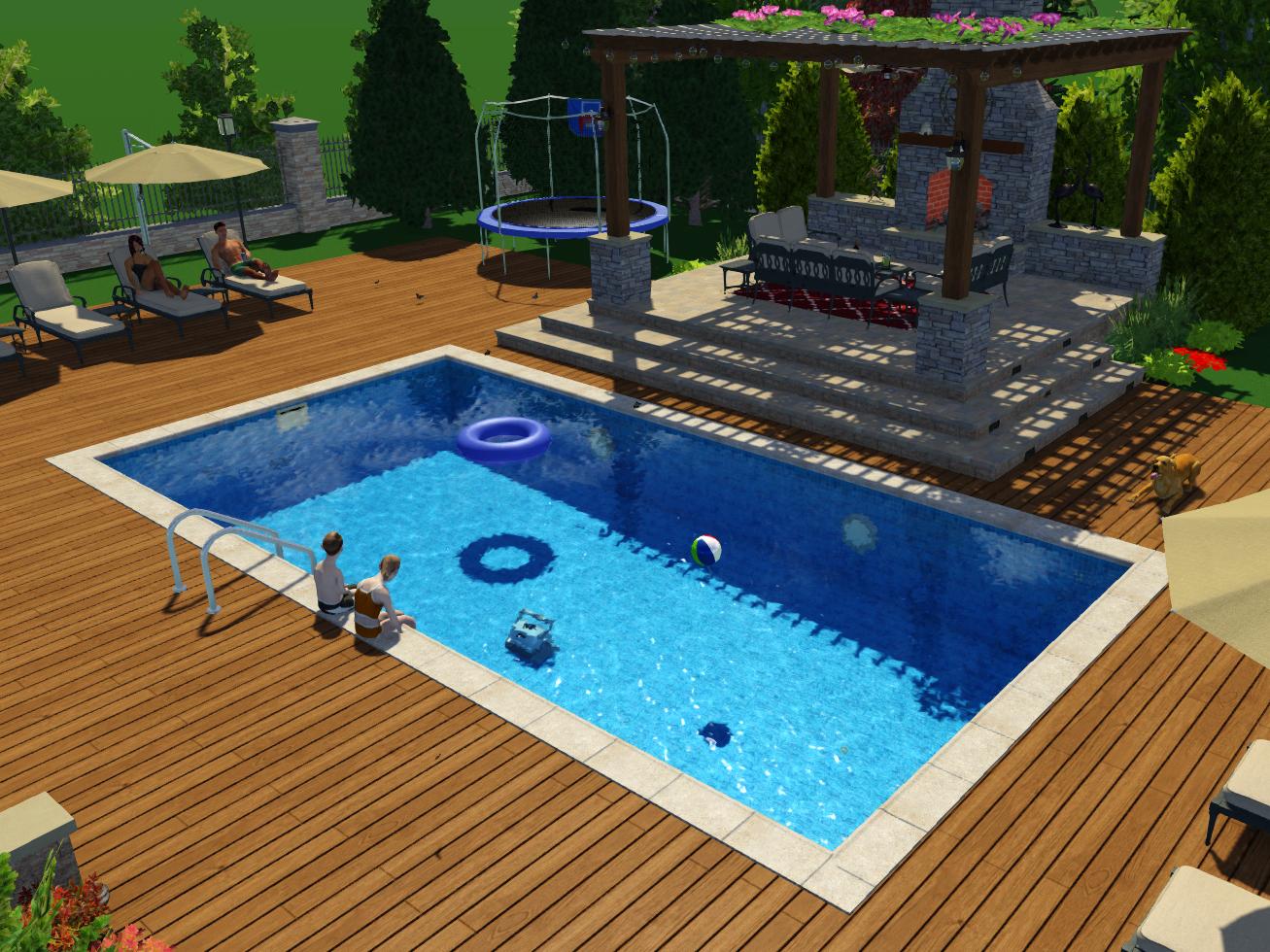 басейн бетон