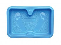 Mini pool for foot disinfection