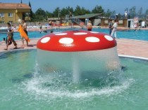 Water sponge - attraction for swimming pool
