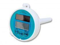 Floating digital thermometer