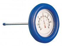 Large circular pool thermometer