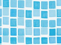 Oval pool liner Azuro 407DL - mosaic