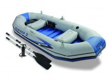 Надуваема лодка Intex MARINER 3 SET