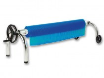 Roller cover for pool cover - mobile