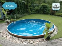 Prefabricated pool AZURO 400DL