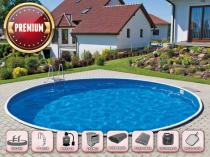 Сборный бассейн AZURO 401DL с фильтрацией - Премиум-пакет