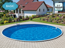 Collapsible pool AZURO 401DL