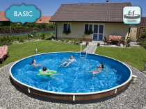Collapsible pool AZURO 403DL for burial