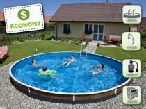 Собранный бассейн AZURO 403DL с фильтрацией - Экономичный пакет
