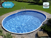 Family prefabricated pool AZURO 404DL