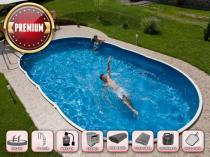 Сборный бассейн AZURO 405DL с фильтрацией - Премиум-пакет