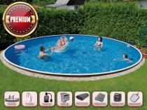 Собранный бассейн AZURO 406DL с фильтрацией - SUPER plus package