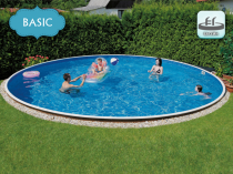 Assembled pool AZURO 406 DL