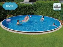 Собранный бассейн AZURO 406 DL