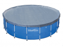 Pool cover with metal frame Intex Metal Frame and Swing Frame