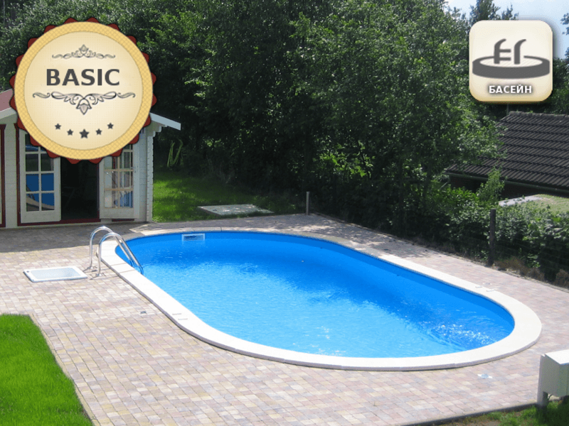 Pool SwimPool 1 - 135 m - BASIC package